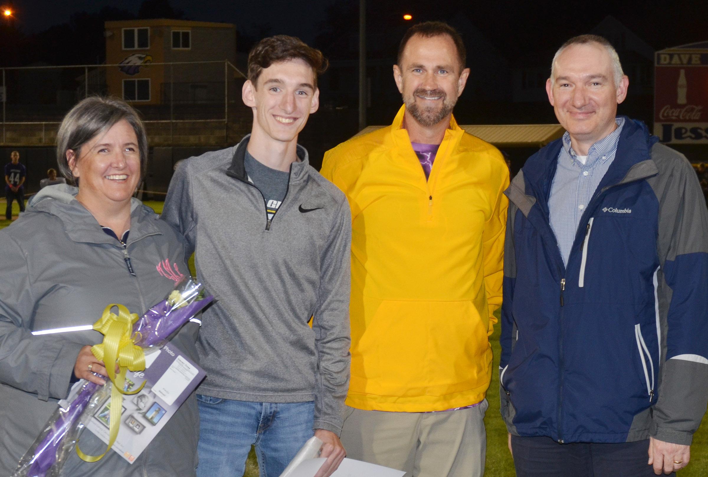 CHS senior cross country runner honored