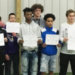 CHS soccer players honored