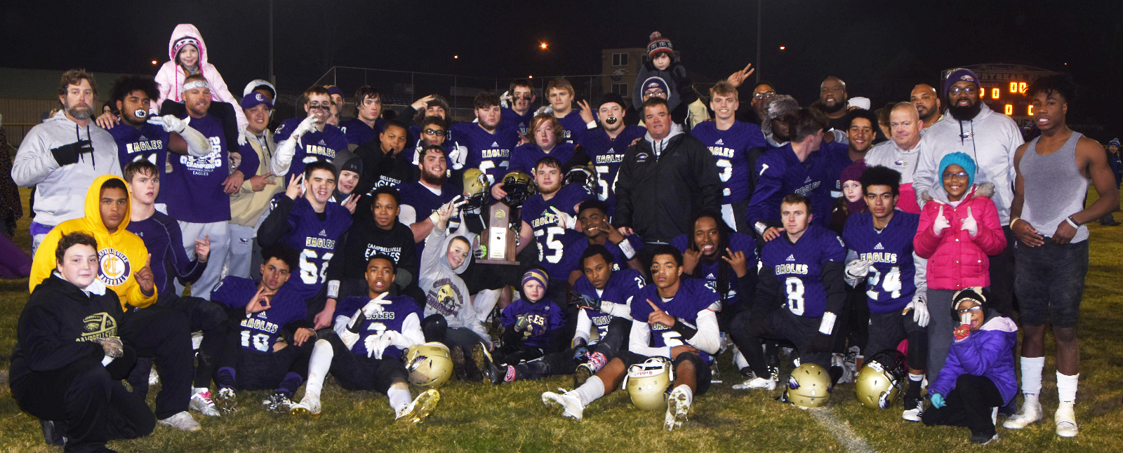 CHS football team wins region championship, makes history