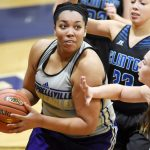 CHS girls' basketball team scrimmages Clinton County