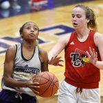 CHS girls' freshman basketball team defeats Taylor, Adair counties