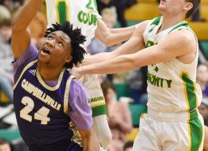 "CHS Boys' Varsity Basketball vs. Green County – Fifth Region All ""A"" Classic – Wednesday, Jan. 16, 2019"