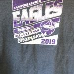 CHS boys' basketball fifth region All 'A' champs t-shirts on sale now