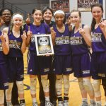 CHS girls' basketball team wins freshman 20th District tournament