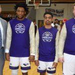 CHS senior boys' basketball players honored