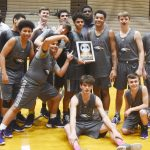 CHS boys' basketball team wins junior varsity 20th District tournament