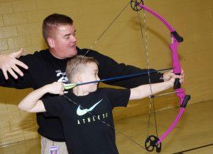 CMS, CHS Archery Team vs. Teachers – Feb. 1, 2019