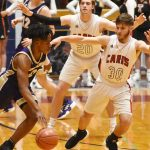 CHS Boys' Varsity Basketball vs. Taylor County – 20th District Tournament – Feb. 19, 2019
