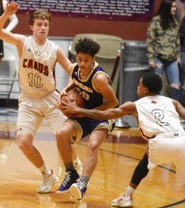 CHS Boys' Varsity Basketball vs. Taylor County – 20th District Tournament – Feb. 19, 2019