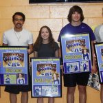 CHS track seniors honored