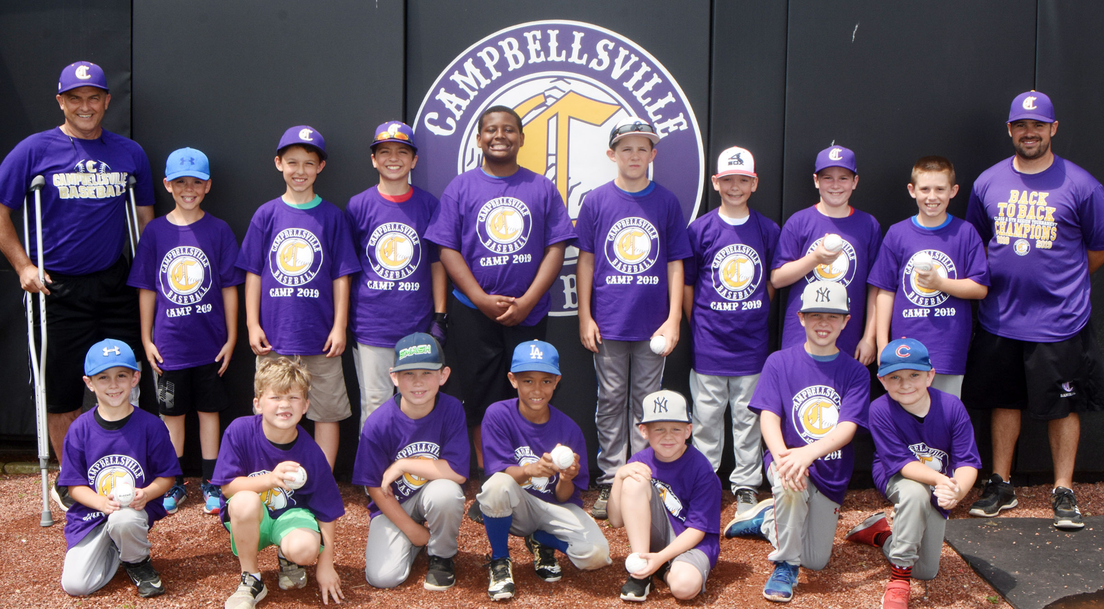 CHS baseball team hosts youth camp
