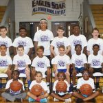 CHS boys' basketball team hosts youth camp