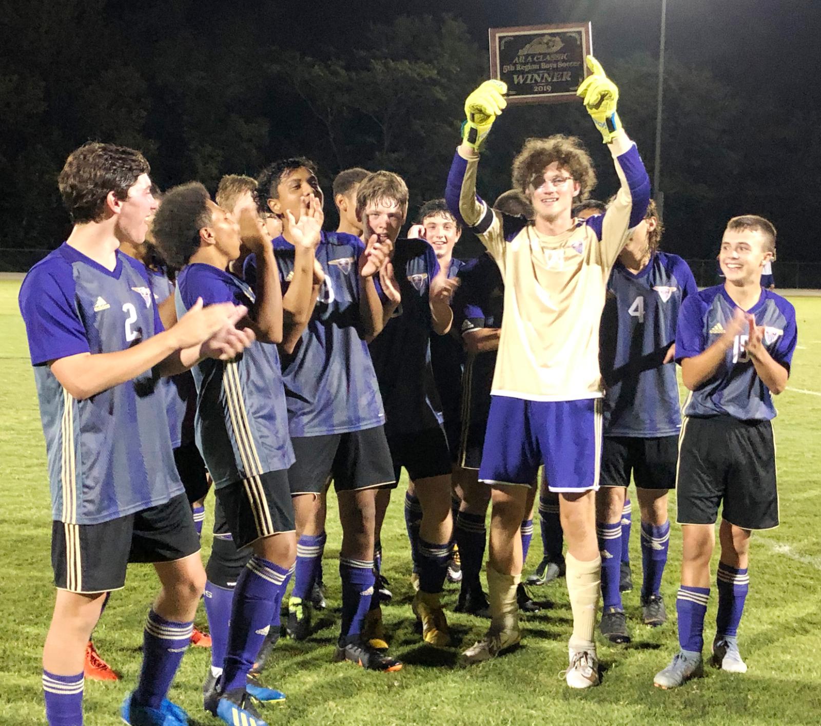 CHS soccer team wins fifth region All 'A' championship