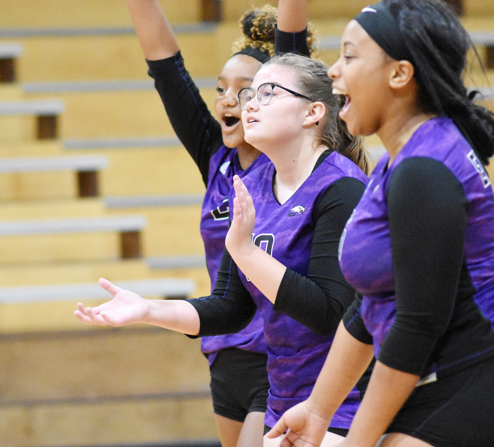 CHS volleyball team sweeps Adair County
