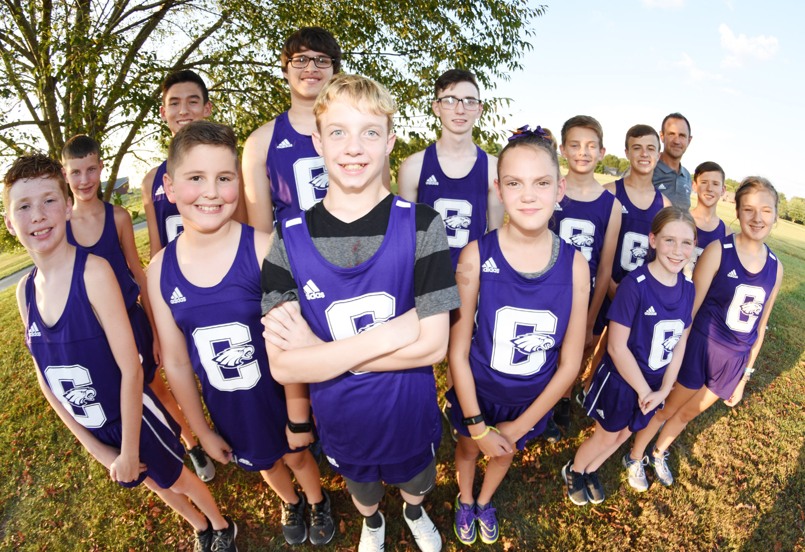 CHS cross country team competes in Heartland Conference meet