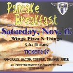 CHS soccer team to host pancake breakfast