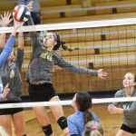 CHS volleyball team defeats LaRue County