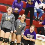 CHS volleyball team battles Marion County in District tournament