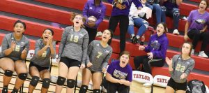 CHS Volleyball vs. Marion County – 20th District Tournament – Oct. 22, 2019