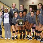 CHS JV volleyball team wins District championship