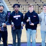 CHS football players honored at banquet