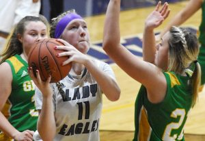 CHS Girls' Varsity Basketball vs. Green County – Jan. 10, 2020