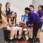 CHS girls' freshman basketball team is District runner-up