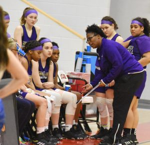 CHS Girls' Freshman Basketball – 20th District Tournament – Jan. 29, 2020
