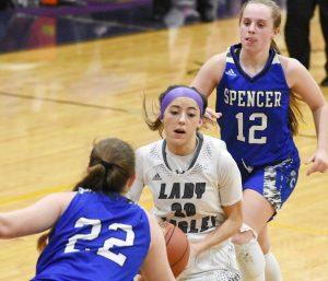 CHS Girls' JV and Varsity Basketball vs. Spencer County – Jan. 21, 2020