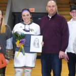 CHS senior basketball player honored