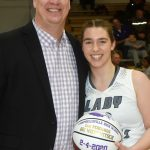 CHS girls' basketball player honored for 500 rebounds