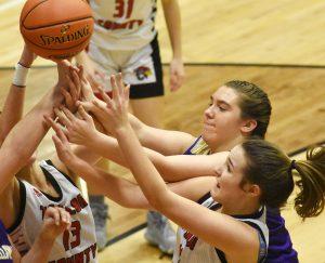 CHS Girls' Varsity Basketball vs. Taylor County – 20th District Tournament – Feb. 25, 2020