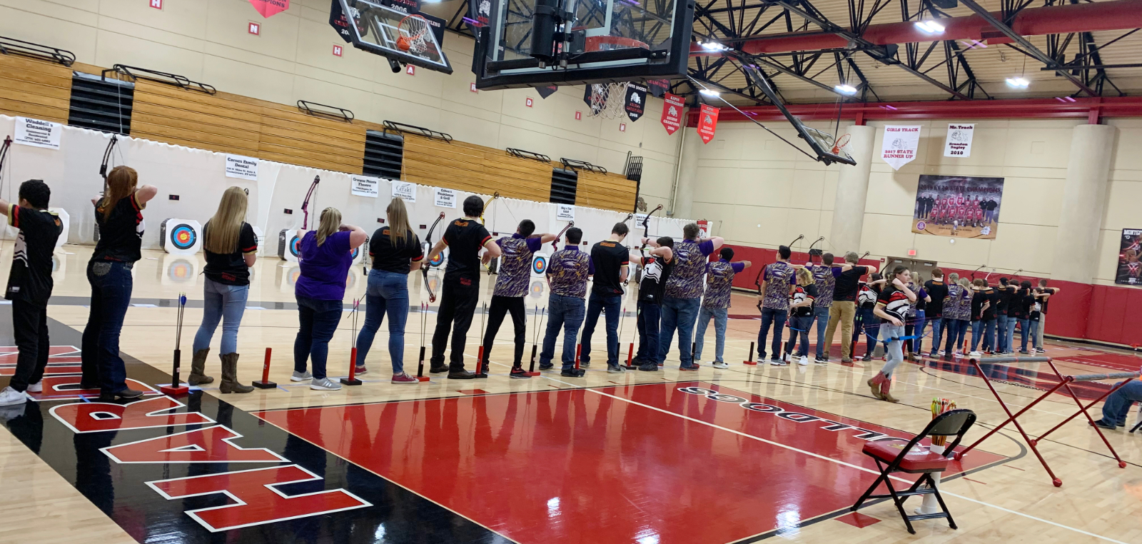 CHS archery team competes in region shoot