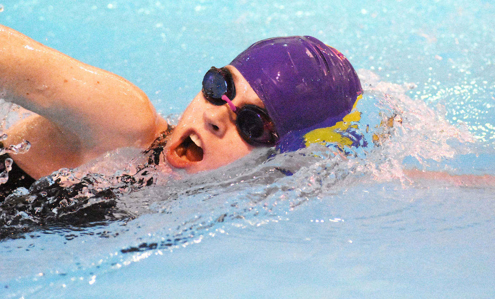 CHS swim teams place at CU