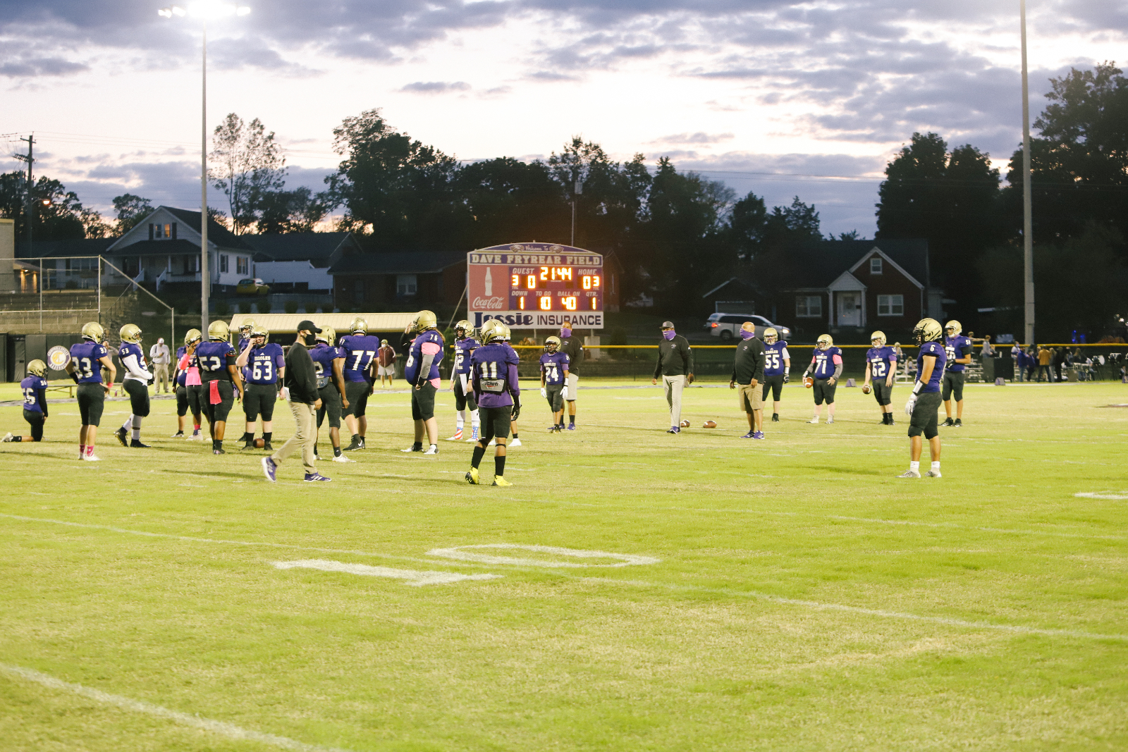 CHS Football vs. Metcalf Co. – Oct. 2, 2020
