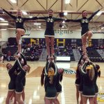 Cheerleaders Finish 2nd at Conference Meet
