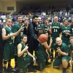 Boys Varsity Basketball beats Hagerstown 56-47 to Win Sectional