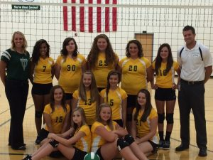 MS Girls Volleyball 2015