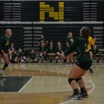 2017 Volleyball - Knights vs. Monroe Central (Scrimmage)