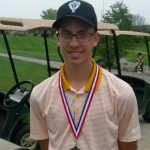 Boys Varsity Golf finishes 3rd place at Wayne County Tourney @ Northeastern High School