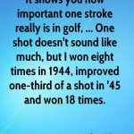 Boys Varsity Golf beats Winchester Community 190 – 189