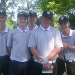Boys Varsity Golf beats Eastern Hancock 242 – 177