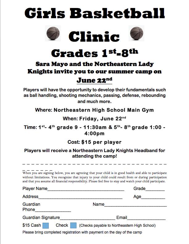 Girls Basketball Clinic