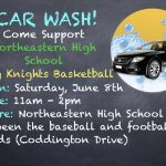 Lady Knights Basketball Car Wash this Saturday!