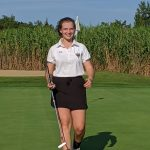 Girls Varsity Golf beats Centerville 210 – 229