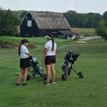 Girls Varsity Golf beats Knightstown 195 – 222