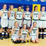 Girls 7th Grade Basketball beats Lincoln 35 – 22 in the Wayne County Tourney Championship