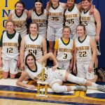 Girls 8th Grade Basketball beats cambridge city lincoln 38 – 12 in the championship game of the Wayne County tourney.