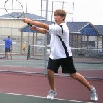Tennis Finishes 5th at Taylor Kennedy Tournament
