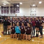 Volleyball Wins District Title!!!